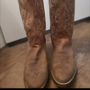 Justin's Genuine Leather Cowboy Boots